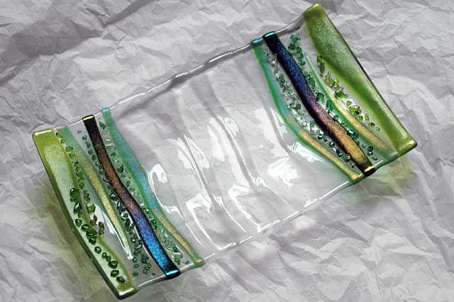 Fused Glass Serving Platter