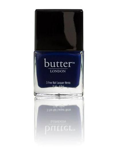 Best Navy Blue Nail Polish | Beauty High. butter LONDON's Royal Navy