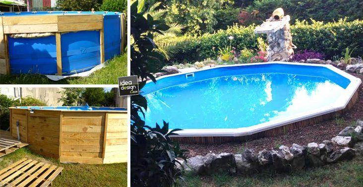 """Come abbellire una piscina fuori terra o seminterrata! Ecco 20 idee stupende... Come abbellire una piscina fuori terra.Chi non vorrebbe una bella piscina a casa!Anche acquistando una piscina """"a costi contenuti"""" si possono ottenere ottimi risultati a..."""