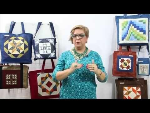 Fundamentos de Patchwork Bolsas - Ana Consentino - YouTube