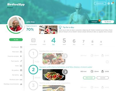 """Check out new work on my @Behance portfolio: """"Sample Medical APP"""" http://be.net/gallery/48000621/Sample-Medical-APP"""