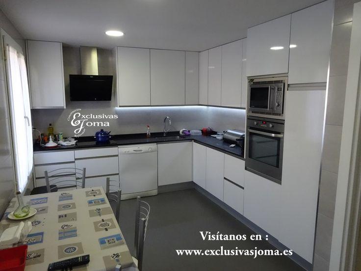 Asombroso Qué Color Perillas Para Gabinetes De Cocina Blancos Fotos ...