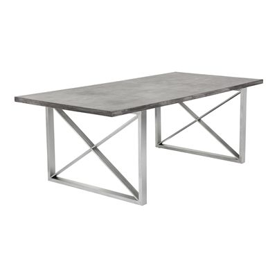 die 25+ besten ideen zu concrete top dining table auf pinterest, Esstisch ideennn