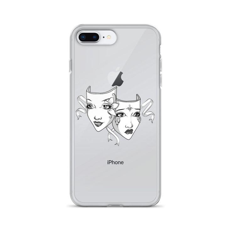 Drama Mask iPhone Case