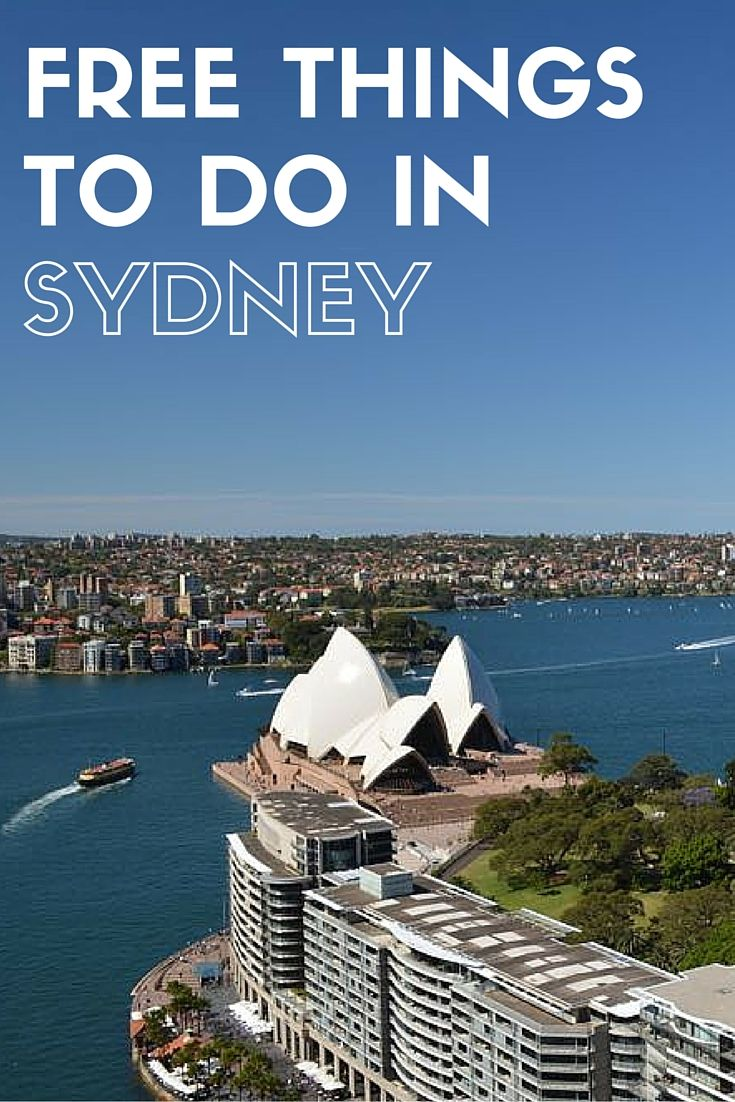 Free things to do in Sydney, perfect if you want to stretch your travel budget and save some money.
