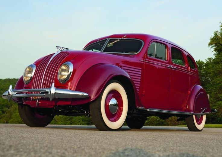 Fashioned By Function – 1934 De Soto Airflow
