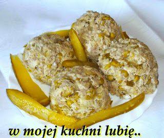 W Mojej Kuchni Lubię.. : pasta z makreli z groszkiem,kiszonym ogórkiem...