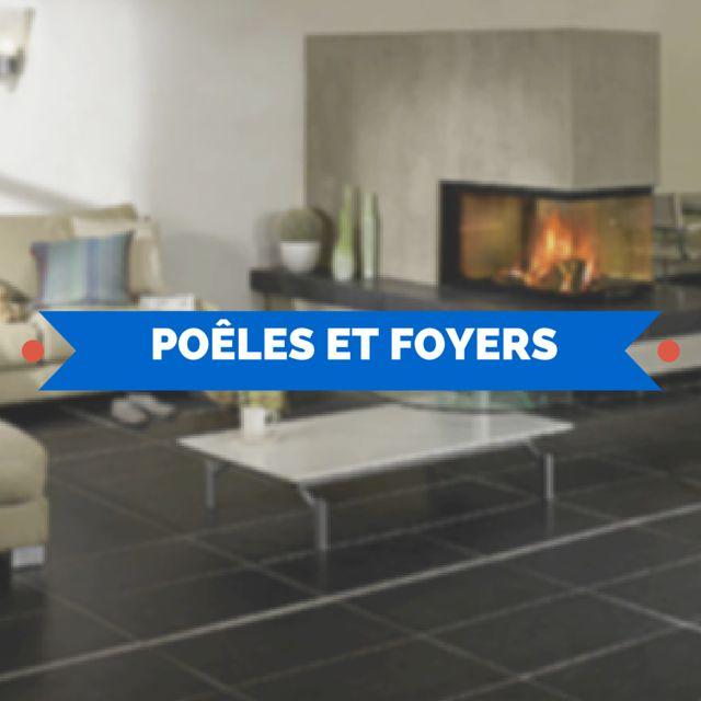 11 best po les et foyers images on pinterest. Black Bedroom Furniture Sets. Home Design Ideas