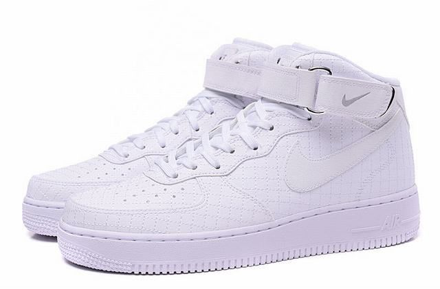 nike air force 1 mid femme blanche