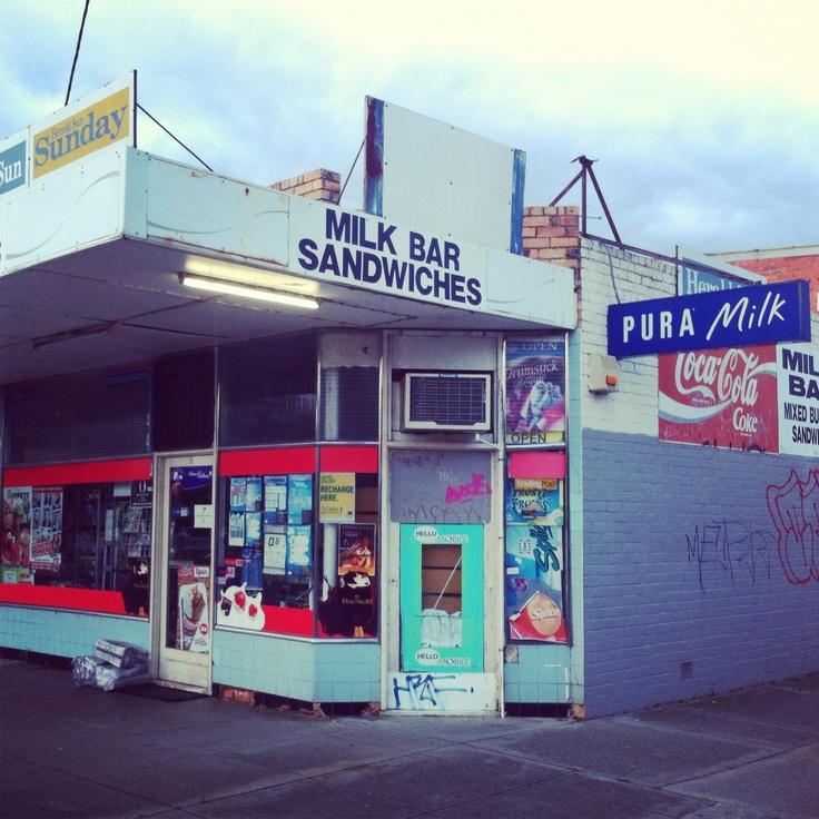 Corner store Milk bar in east Bentliegh Melbourne