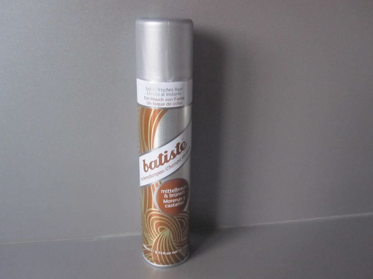 #sfmbox Januar:  batiste Trockenshampoo für mittelbraunes & brünettes Haar