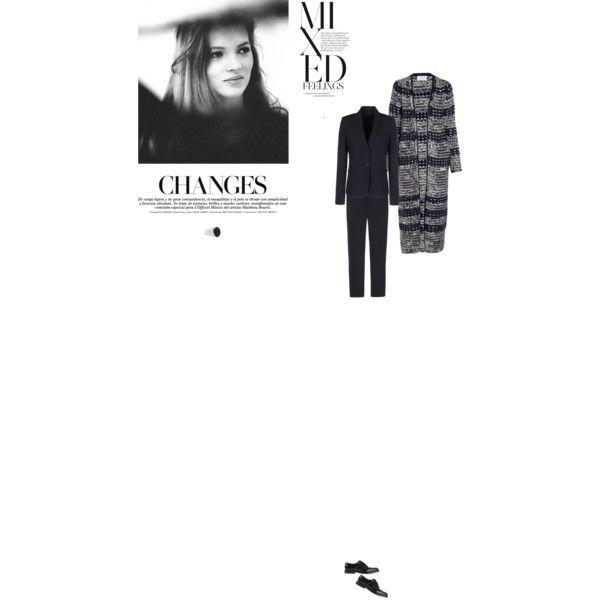 Bez tytułu #97 by izabelmaz on Polyvore featuring moda, Chloé, Acne Studios, Church's, Tom Wood and Naomi Campbell