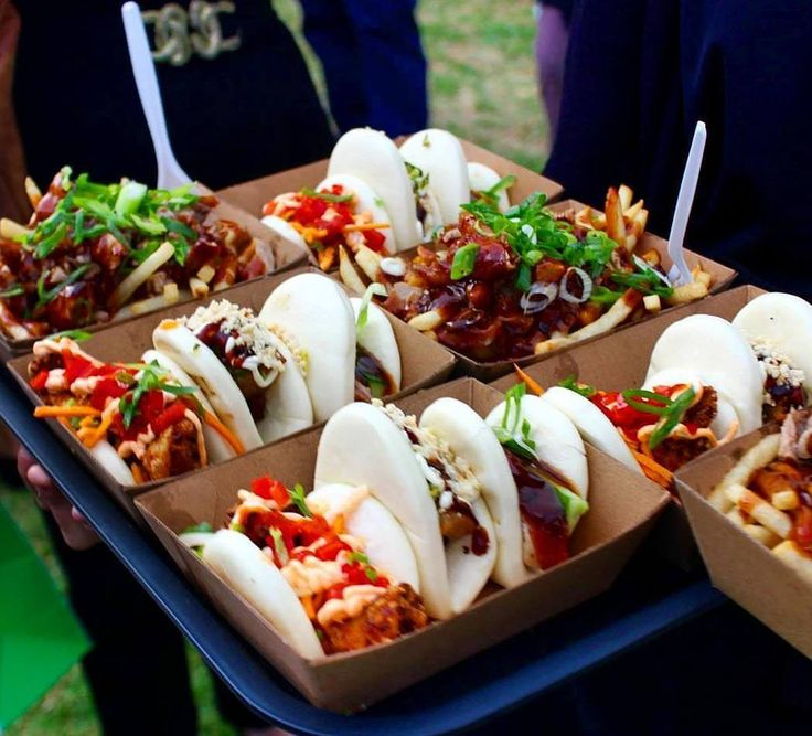 @goodfoodofperth snapped this great photo of a full @menulog tray of our Bao Trifectas and the ever so popular Peking Duck Fries!