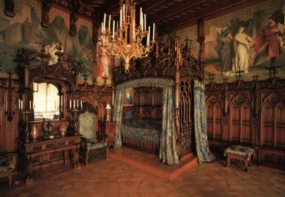 Art and Interior: SPECIAL SERIES: The Revival of Medieval-Renaissance Bedrooms in the Goth Scene (part 3)