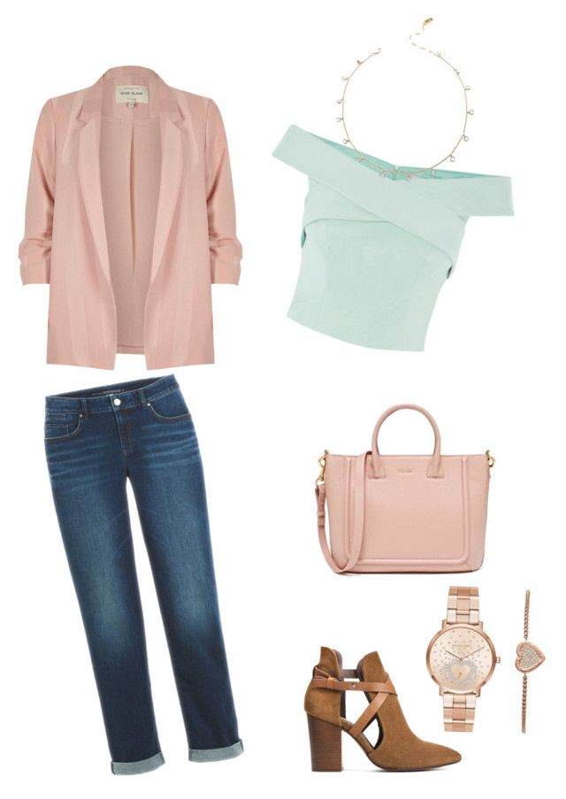 """Untitled #10"" by wilma-bih on Polyvore featuring River Island, H London and Michael Kors"