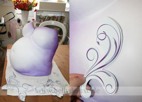 Step 4: Belly Cast painting