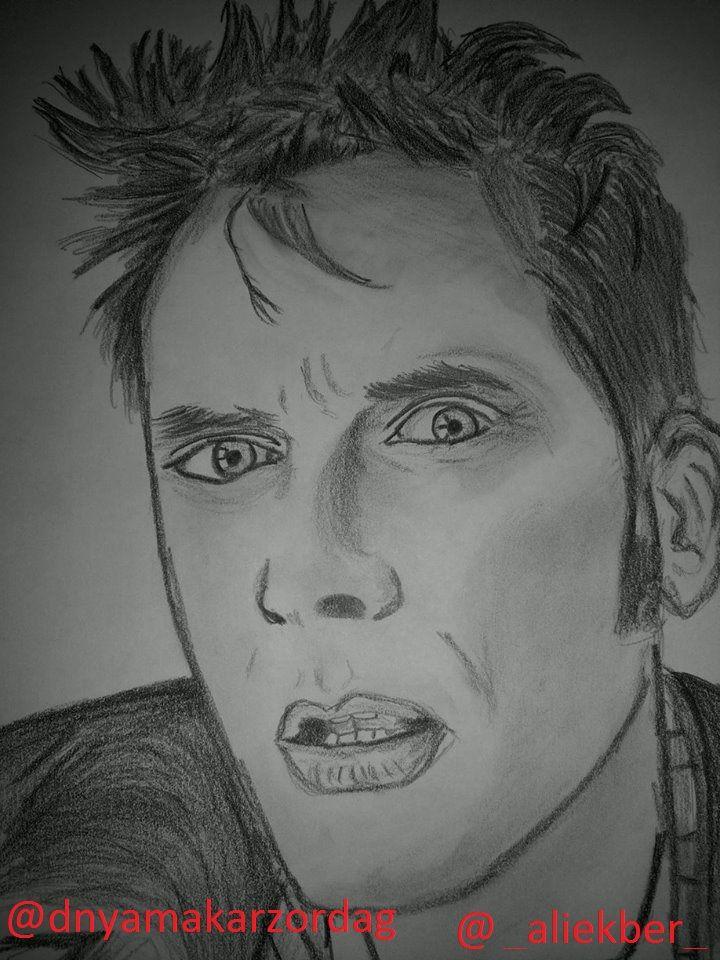 #DoctorWho #DavidTennant #MattSmith #draw #sketch #PeterCapaldi #fanart