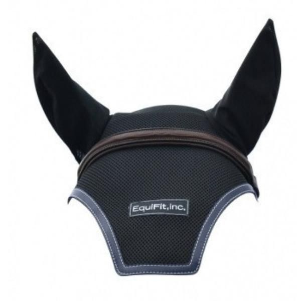 The EquiFit Ear Bonnet keeps the ears, poll and head cool and dry with its multi-dimensional air-mesh while keeping flies at bay.