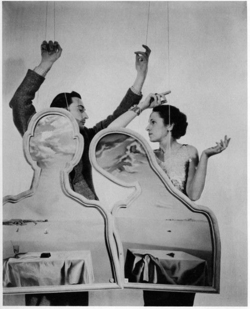 Dali and his wife