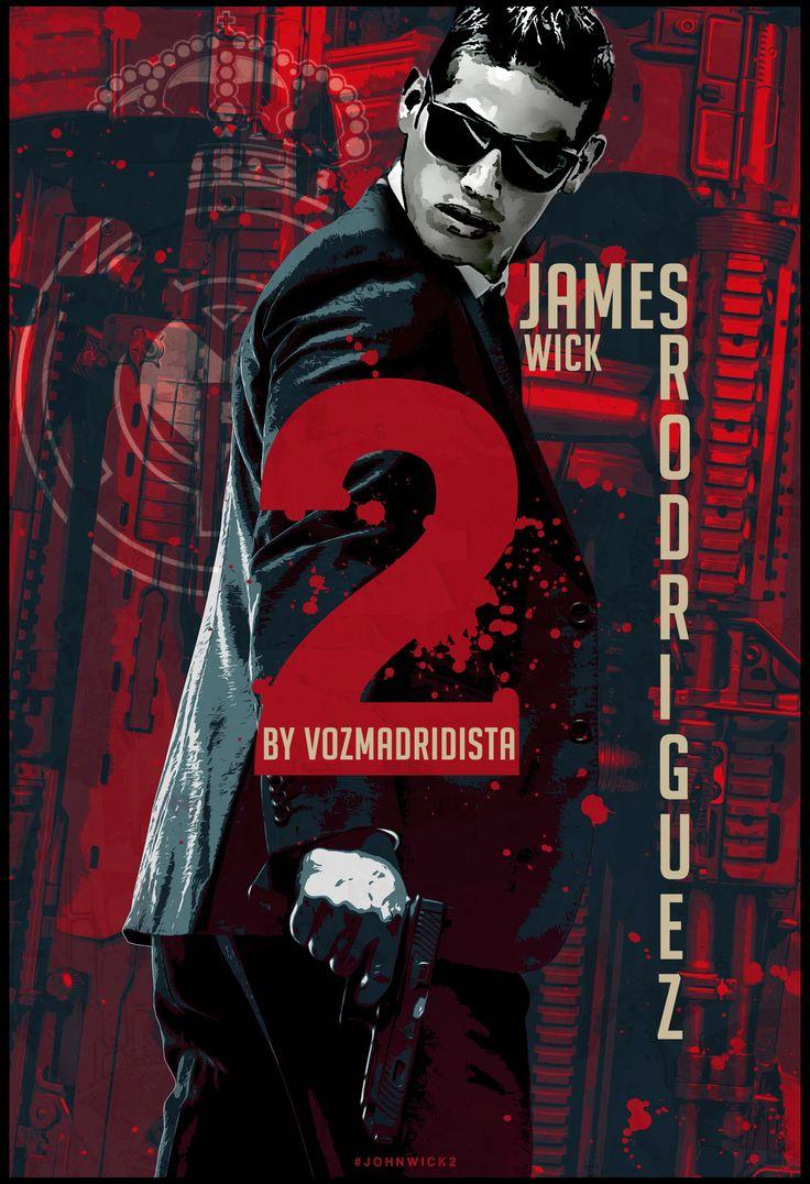 JAMES RODRÍGUEZ  JOHN WICK 2