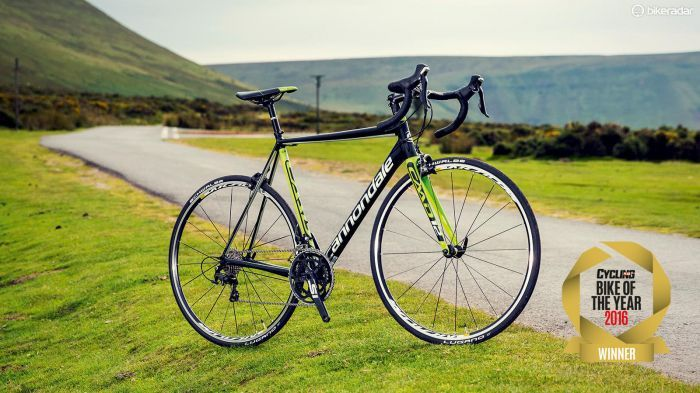 Cannondale s CAAD12 105 scooped Cycling Plus magazine s overall Bike of the Year award  It s a stunning example of how good alloy road bikes can be