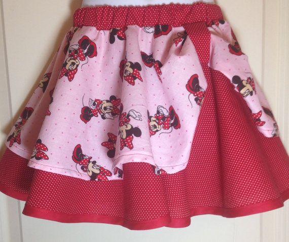 Disney skirt Mickey skirt Minnie Mouse skirt by dreamdesignsdiane