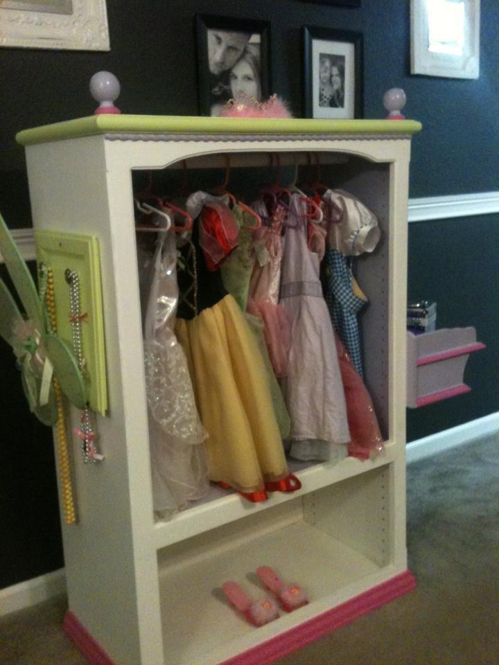 mattie 39 s princess wardrobe closet kid stuff pinterest princesses wardrobes and closet. Black Bedroom Furniture Sets. Home Design Ideas