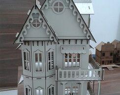 Casa Gotica Branca POLLY MONSTER HIGH