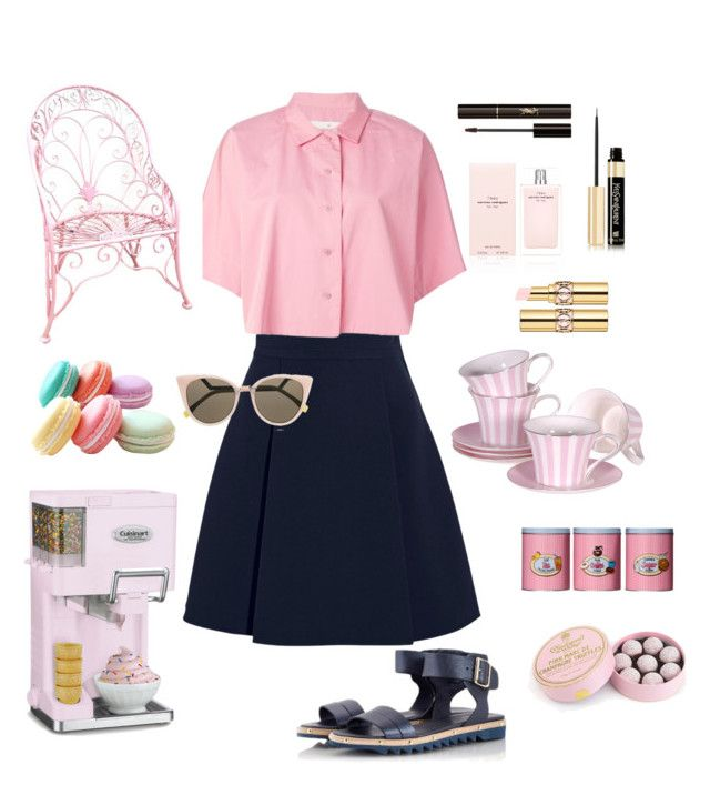Sugar angel*** by sheiscarla on Polyvore featuring polyvore, fashion, style, Golden Goose, Miu Miu, Attilio Giusti Leombruni, Fratelli Karida, Fendi, Yves Saint Laurent, Narciso Rodriguez, Cuisinart, Charbonnel et Walker, women's clothing, women's fashion, women, female, woman, misses and juniors