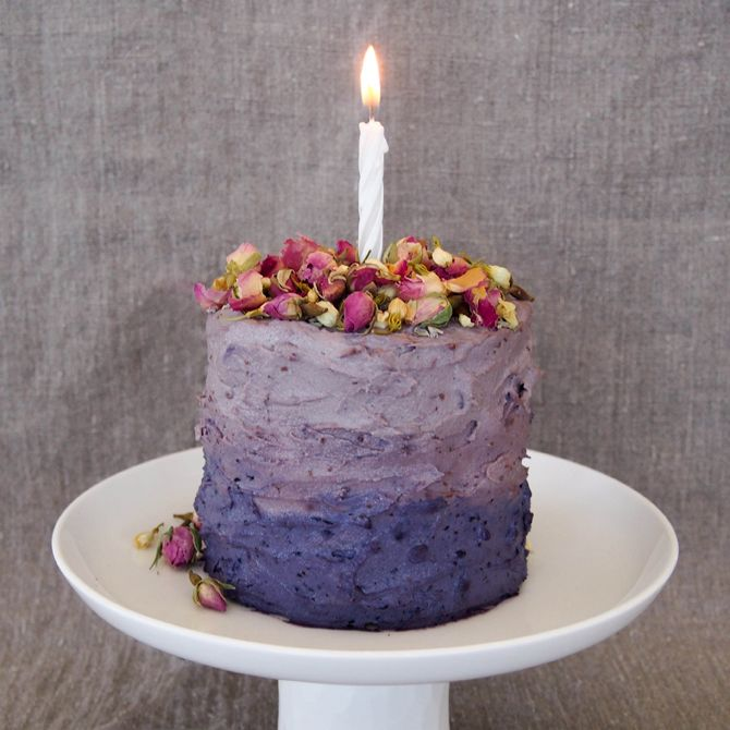 Easy and healthy birthday cake recipes