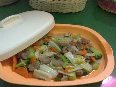 Tumis Daging Sayuran