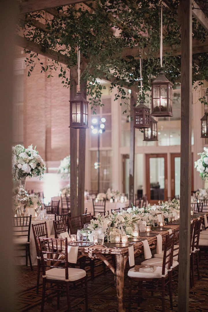 Dallas Wedding with Glam Indoor Garden Style