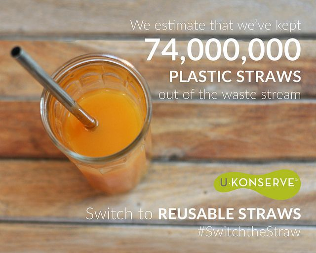 For the month of September, we've partnered with some amazing organizations to spread the message of our #switchthestraw campaign.
