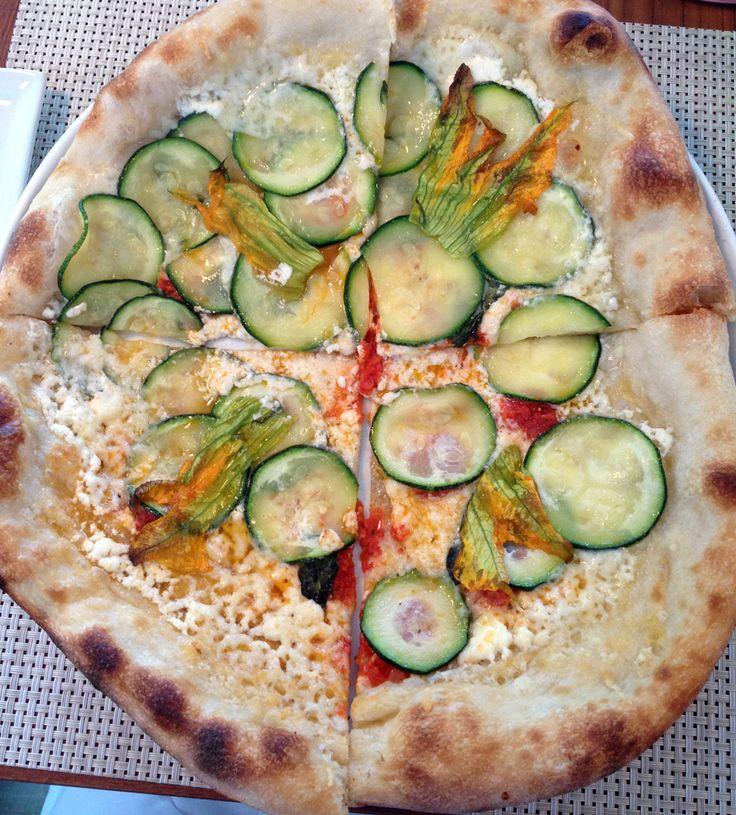 Tive a idéia para essa receita outro dia, quando comi essa pizza deliciosa no almoço. Mas infelizmente ela não era tão light quanto eu gostaria, então adaptei para essa receita que eu espero que vocês gostem. Ficou deliciosa!!! A minha versão não tem massa, olhem só: Ingredientes: Não vou colocar quantidade porque depende de quantas …