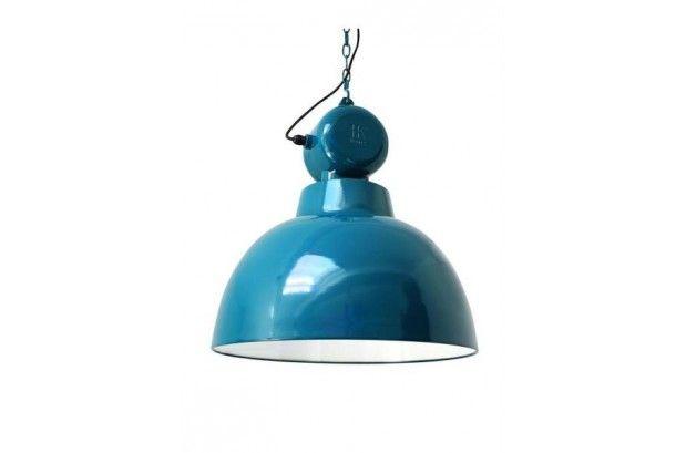 Lámpara Factory Vintage Azul