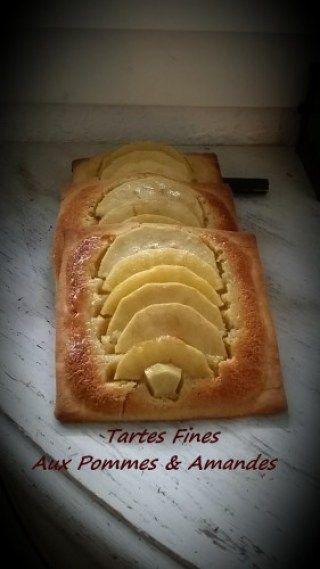 Tartes Fines Aux Pommes & Amandes