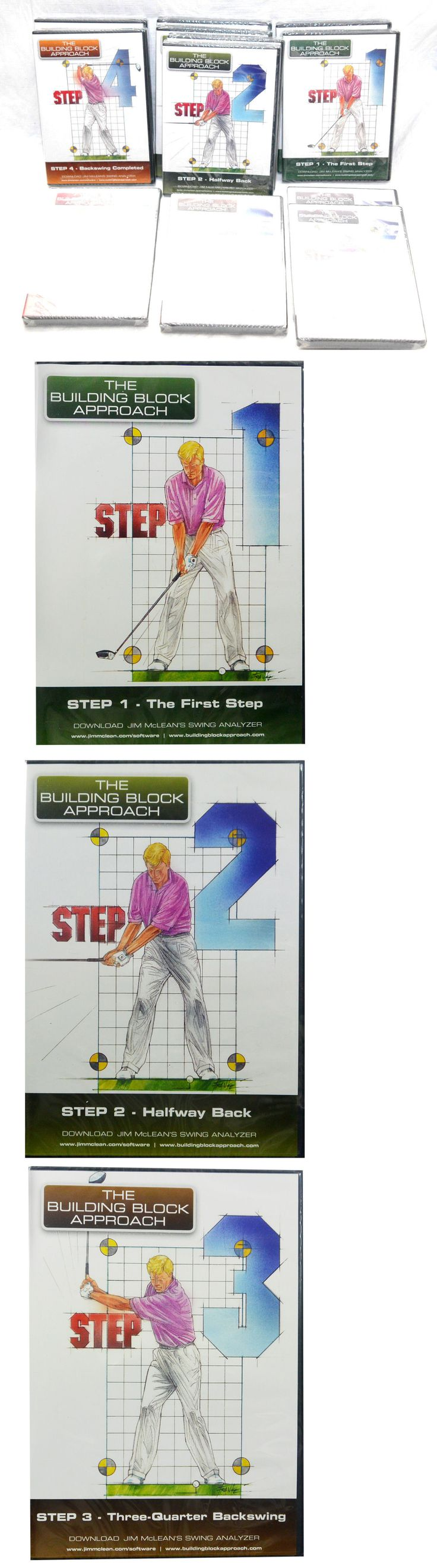 Other Golf Training Aids 14109: New Building Block Approach - Jim Mclean S Revolutionary 12- Dvd S Training Aids -> BUY IT NOW ONLY: $69.99 on eBay!