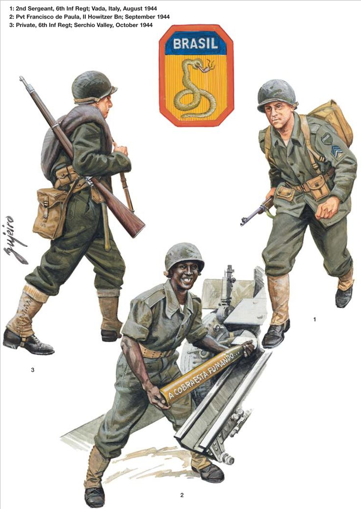 BEF (Brazilian Expeditionary Force) - 2nd Sergente, 6th Reggimento Fanteria…