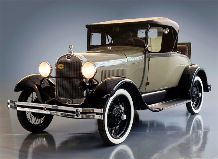 Ford Model A, 1929.