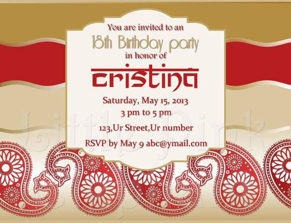 Mehndi Party Invites : 42 best indian invitations images on pinterest