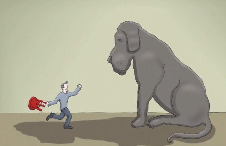 Τι είναι η κατάθλιψη; Αυτό το βίντεο με πρωταγωνιστή ένα σκύλο το εξηγεί με τον καλύτερο τρόπο