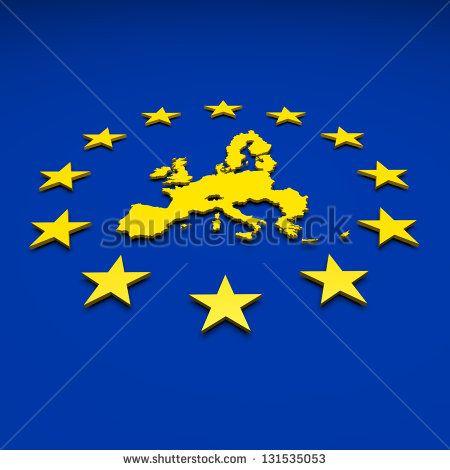Eu, europe union, map