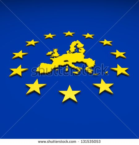 Eu, europe union, map