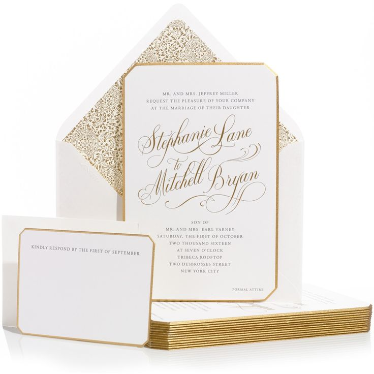 66 best Bell\'INVITO Couture Wedding Invitations images on Pinterest