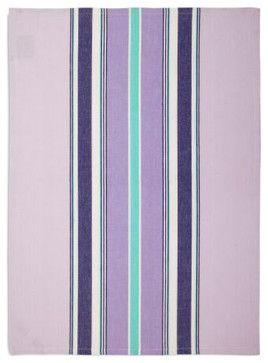 Lavender Medium-striped Kitchen Towel - contemporary - dishtowels - Sur La Table