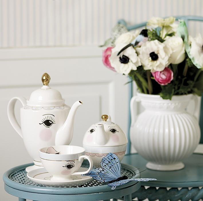 teaset by miss etoile tea time pinterest deco och inspiration. Black Bedroom Furniture Sets. Home Design Ideas
