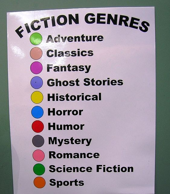 color-coded fiction