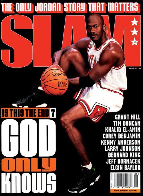 35 Classic Magazine Covers With Michael Jordan Rocking