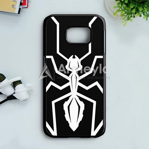 Marc Marquez Mm93 Black Ant Logo Samsung Galaxy S7 Edge Case   armeyla.com