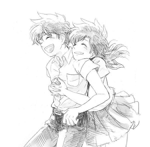 young ran and shinichi relationship